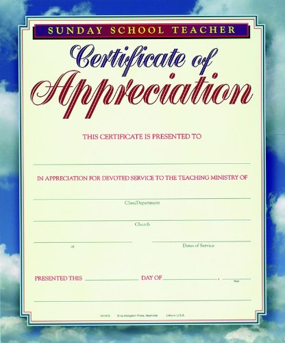 teacher appreciation certificate free printable
