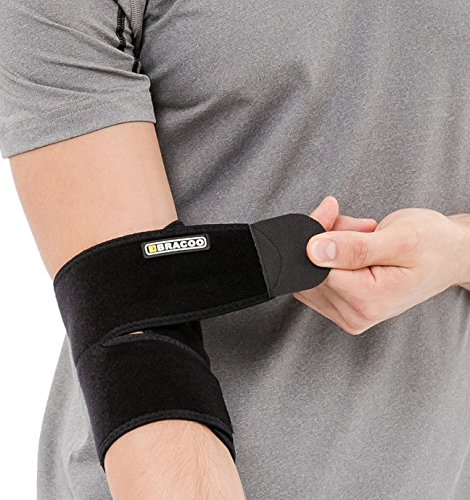 bracoo-breathable-neoprene-elbow-support-one-size-black