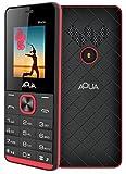 #5: Aqua Maze - 1000 mAh Battery Slim Dual SIM Basic Keypad Mobile Phone- Black+red