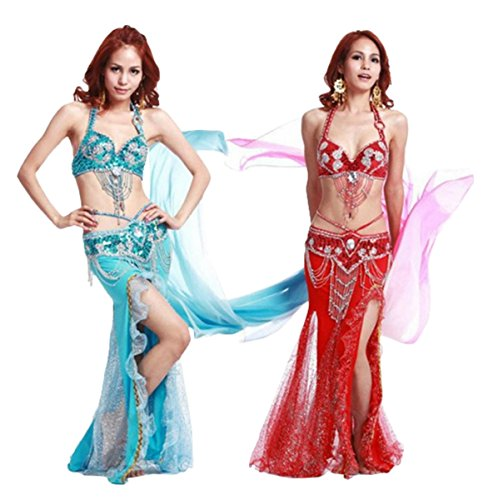 Sophiashopping sexy lady Mermaid cosplay Costume for hallowen party belly dance