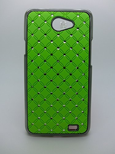 Maclogy 2014 Latest Fashion Design Luxury Dazzling Rhinestones Shiny Crystal Diamond Plating Protective Shell Trapped Difficult Cases Samsung Galaxy I9103 And Fashion Chain Crystal Ornaments Color Uv Radiation Gifts (Green)