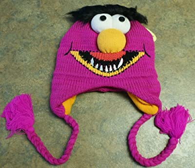 Muppet Disney 3D Animal Knit Fleece Ski Hat Beanie Cap Winter ADULT TEEN