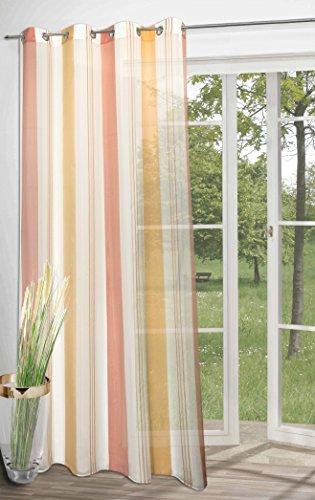 rideau-tendance-a-oeillets-lovely-day-en-rose-rose-doux-orange-bonne-qualite-pour-un-prix-raisonnabl