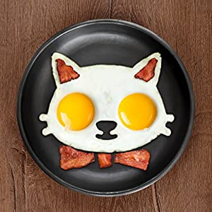 Fred & Friends FUNNY SIDE UP, Cat Egg Mold [並行輸入品]