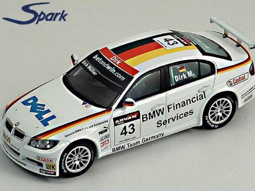 スパークモデル 1/43 BMW 320 SI #43 WTCC 2006