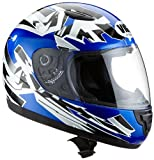 Protectwear SA03-BL-XS Kinder Motorradhelm