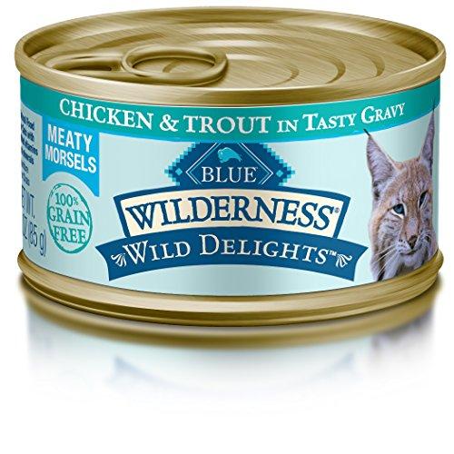 Wild Delights Cat Chicken & Trout Entree - 24/3 OZ