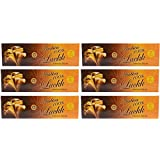 Ambica Agarbathies Luckk Incense Sticks (540 G, Black, Pack Of 6)