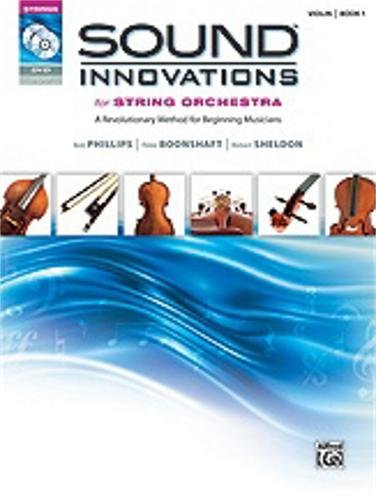 Sound Innovations String Orchestra Book 1 Violin with CD/DVD
