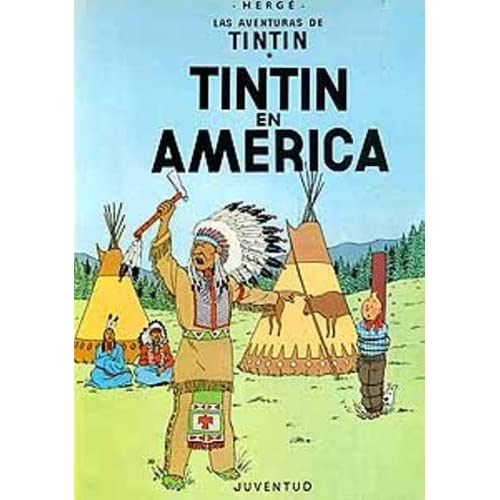 Las Aventuras de Tintin: Tintin en America (Spanish