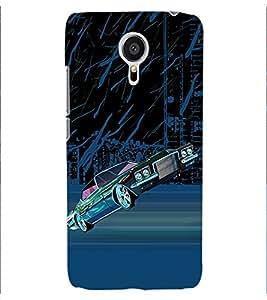 ColourCraft Car Back Case Cover for MEIZU MX5