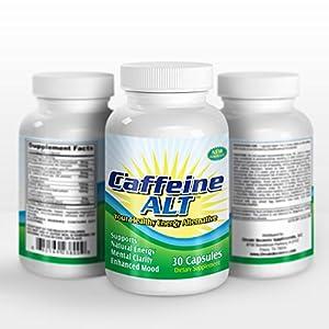 The #1 Quit Caffeine Replacement Supplement: CaffeineALT (Ginkgo Biloba Extract, Phosphatidylserine Complex, N-Acetyl-L Carnitine HCl, St. John's Wort, Glutamine, DMAE Bitartrate, Bacopa Monniera, Vinpocetine, Huperzine-A)