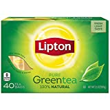 Lipton Green Tea Bags, 40 Count