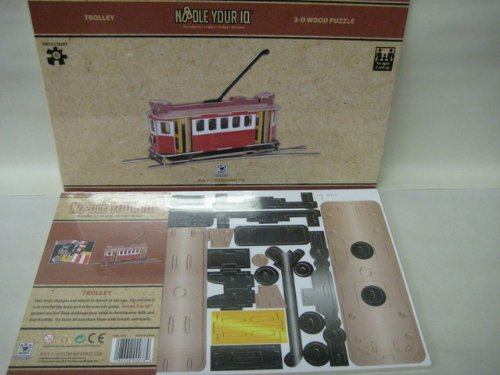 Trolley 3D Puzzle Colored by Discovery Bay Games - 1