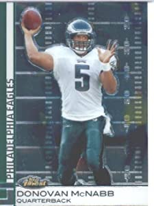 2009 Topps Finest Football Card #32 Donovan McNabb Philadelphia Eagles