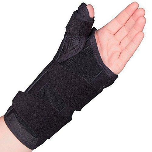 OTC 2387 Select Series Wrist Thumb Splint, Left, Medium, 8 Inch (Thumb Cast compare prices)