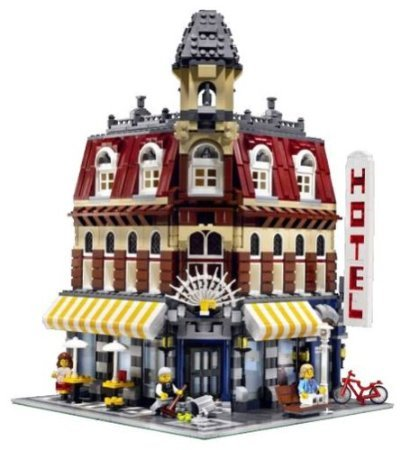 Lego ( Lego ) Make u0026 Create Cafe Corner block toys ( parallel imports )