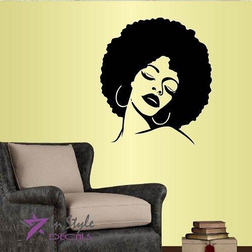 wall-vinyl-decal-home-decor-art-sticker-beautiful-woman-with-afro-hair-closed-eyes-beauty-hair-salon