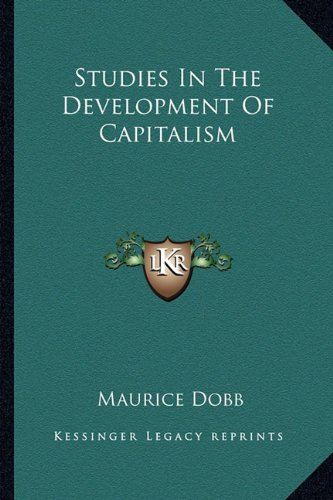 Studies In The Development Of Capitalism
