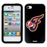 Indiana Fever - Secondary Logo design on a Black-Black iPhone 4 / 4S Guardian Case by Coveroo