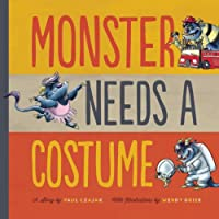 Monster Needs a Costume (Monster & Me) from Scarletta Kids