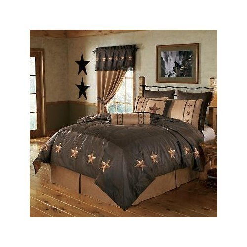 Hiend Accents Laredo Chocolate Bedding, King
