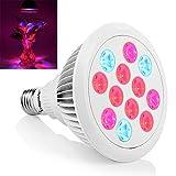 Erligpowht LED Pflanzenlampe E27 24W Pflanzenleuchte...