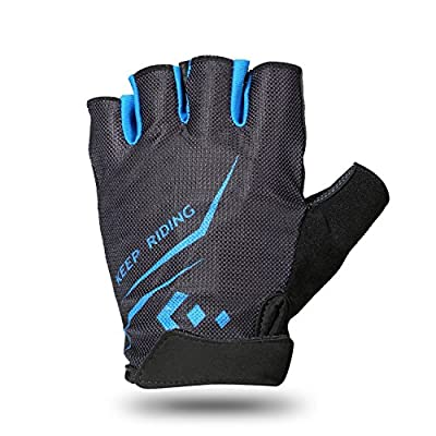 Cycling Gloves, Hicool Summer Half Finger Breathable Biking Bicycle Gloves for Exercise, Outdoor Sports, Riding Racing Equipment