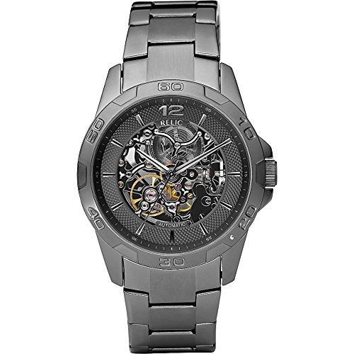 relic-mens-zr11853-automatic-gunmetal-watch
