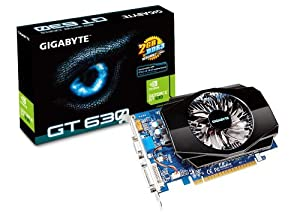 Gigabyte GeForce GT 630 2GB DDR3 PCI Express 2.0 DVI-I/D-SUB/HDMI Graphics Card GV-N630-2GI