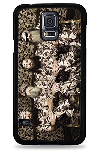 810 Duck Dynasty Camo Samsung Galaxy S5 Hardshell Case - Black back-191545