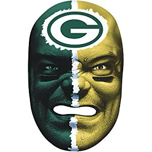 Franklin Green Bay Packers Face Mask by Franklin