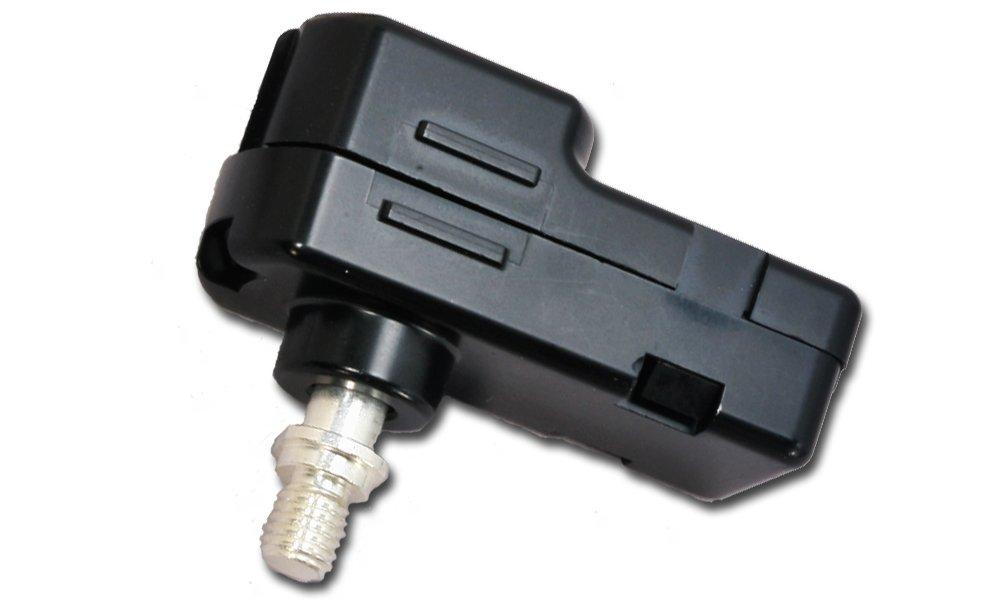 Amphenol Industrial PSL-10320K Socket, Lug Shape, SurLok Assembly, Compression Coupling, Crimp Termination, Black 45 Thread, 10.3mm Pin Size, 2/0 AWG Wire Size, 300 Amps Current кабель panasonic amphenol 2 5м