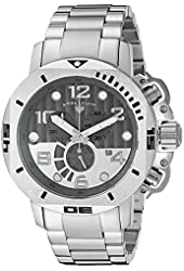 Swiss Legend Men's 10538-104 Scubador Analog Display Swiss Quartz Silver Watch