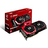 MSI Computer RADEON RX 480 GAMING X 4G GDDR5 DVI/2HDMI/2Displayport PCI-Express Video Card