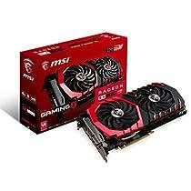 MSI GAMING RX 480 GDDR5 4GB CrossFire VR Ready FinFET DirectX 12 Graphics Card (Radeon RX 480 GAMING X 4G)