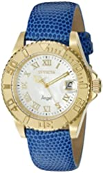 Invicta Women's 18411SYB Angel Analog Display Swiss Quartz Blue Watch