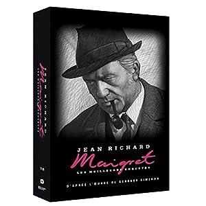 Maigret - Coffret N°6 - 12 Épisodes avec Jean Richard