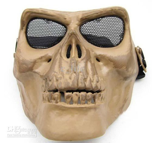Gaga Face Protect Army M02 Ii Skull Warrior Armor Mask Skeleton