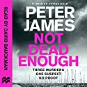 Not Dead Enough: Roy Grace, Book 3 Audiobook by Peter James Narrated by David Bauckham