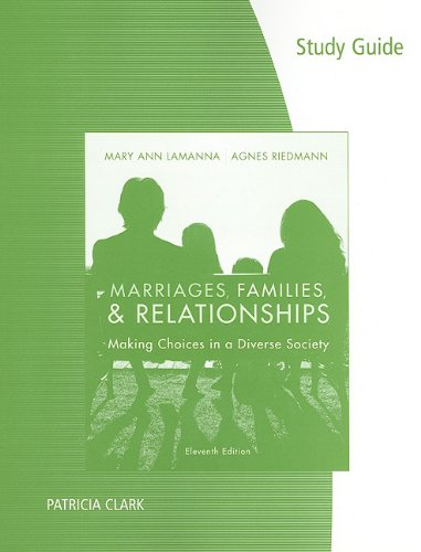 Study Guide for Lamanna/Riedmann's Marriages &...