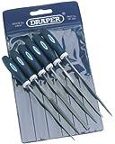 Draper 63635 6-Piece 150 mm Soft-Grip Needle File Set