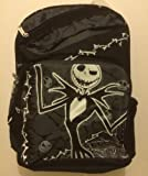 Full Size Black and Grey Jack Skellington Backpack