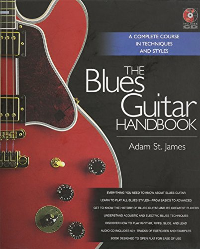 Adam St. James: The Blues Guitar Handbook