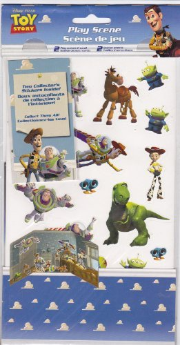 "Disney * Pixar ""Toy Story"" Play Scene w/Stickers"