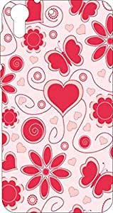 Go Hooked Designer Soft Back cover for HTC Desire 728 + Free Mobile Stand (Assorted Design)