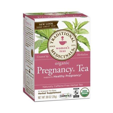 Traditional Medicinals Organic Pregnancy Tea - Caffeine Free - 16 Bags
