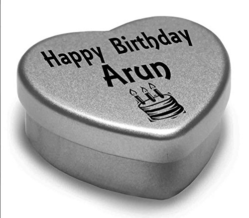happy-birthday-arun-mini-heart-tin-gift-present-for-arun-with-chocolates-silver-heart-tin-fits-beaut