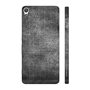 Enthopia Designer Hardshell Case CHARCOAL GRUNGE Back Cover for Sony Xperia XA Ultra