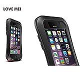 iPhone SE/5s/5 ケース カバー スマホケース スマホカバー 軍用 耐衝撃 防水 指紋認証センサー ブランド (ブラック)